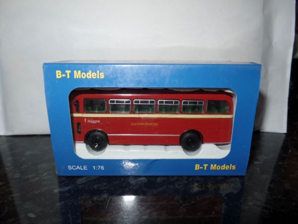 B T Models B201B Bristol MW Bus Coach Eastern Counties route 204 Ipswich